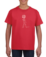 Boys' T- Shirts - Red Ex-Large