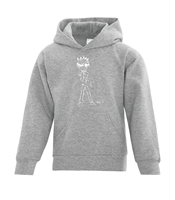 Youth Hoodies (Unisex) Sport Grey Ex-Large